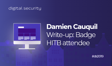 HITB_DamienCauquil_digitalsecurity