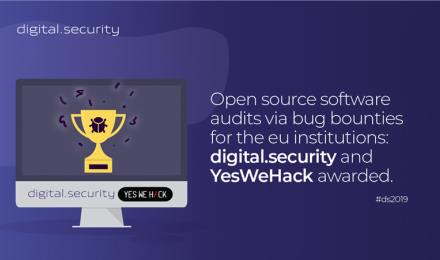 Open source software audits via bug bounties for the eu institutions: digital.security and yeswehack awarded.